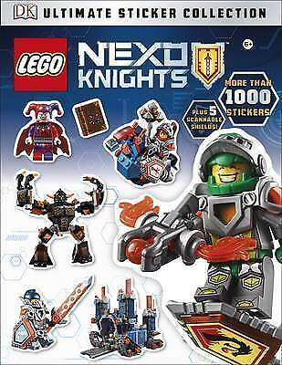 LEGO Nexo Knights Ultimate Sticker Collection. Activity Book. Kids Gift