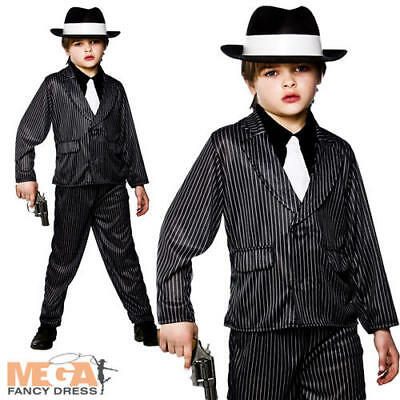 Peaky Blinders 1920s Gangster Mobster Child/'s Fancy Dress Costume