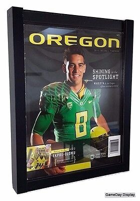 UV Protecting Standard Sized Magazine Display Case Frame GameDay Display