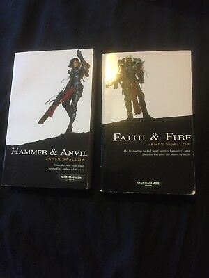 Hammer And Anvil, Faith And Fire Warhammer 40k, Black Library Sisters Of Battle