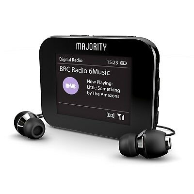 Portable Radio Handheld Pocket Personal DAB+ Digital FM Rechargeable Player