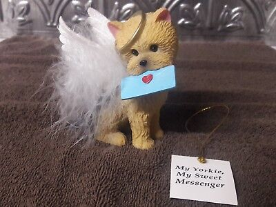 My Yorkie My Sweet Messenger From The Precious Yorkie Angel Hamilton Collection