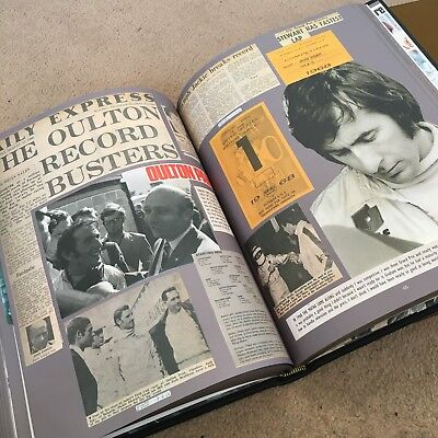 Signed Deluxe binding of Sir Jackie Stewart's limited edition book, 'Collage'