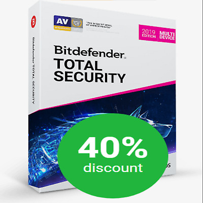 💥 Bitdefender TOTAL Security 2019 ✳️ 180 Tage 5 GERÄTE ✳️ BLITZVERSAND Email ✅