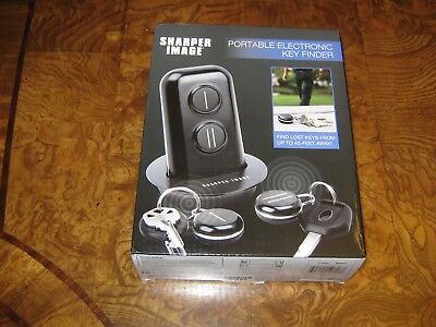 Nib Sharper Image Portable Electronic Key Finder 2006 Picclick