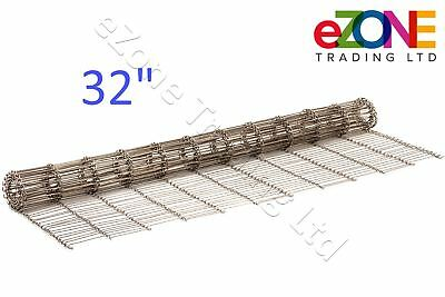 """Pizza Ovens Conveyor Belt Chain 32"""" MIDDLEBY Marshall Wire Mesh"""