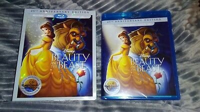 Beauty And The Beast DVD And Blu Ray Set
