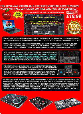 Sale One Day Only Virtual DJ Pro 8.Full Version 20 Copies Only £9.99 Or Gone