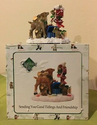 Charming Tails Sending You Good Tidings And Friendship Fitz & Floyd 87/178 *