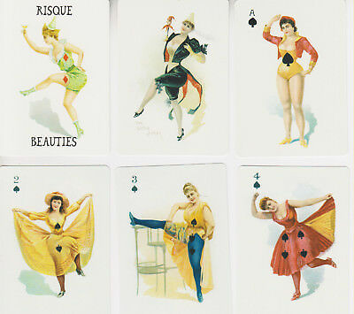 Risque Beauties Pin Up Playing Cards