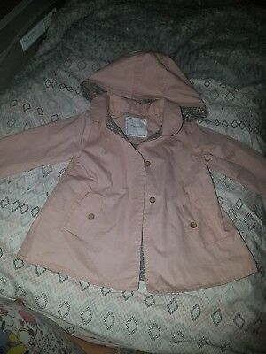 Baby Girls Brand New Coat Jacket From Next Size 6-9 Months