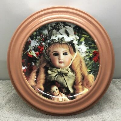 "Franklin Mint Hanau Doll Museum ""Portrait Of Celeste"" Limited Edition Plate"