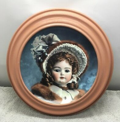 "Franklin Mint Hanau Doll Museum ""Portrait Of Madeline"" Limited Edition Plate"