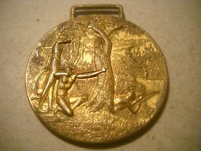 RARE 1813- 1913  Battle Creek  WATCH FOB HOME COMING CELEBRATION AUGUST  19-25