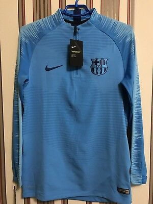 2e3d1348b90 ⚽️FC BARCELONA 2019 Vaporknit NIKE Drill Training Top Jersey Soccer Men s  Sz M