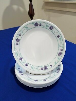 8 Corelle Bread and Butter Plates ~ SIMPLY SPRING ~ Ships Free