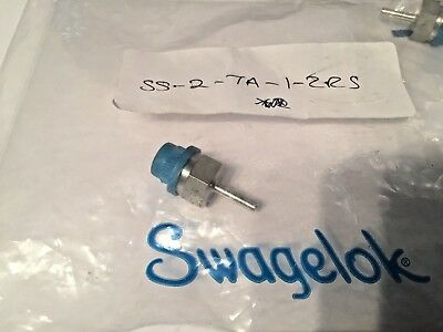 Swagelok SS-2-TA-1-2RS  Male Tube Adapter 1/8 in. Tube OD x 1/8 in Male ISO Pa