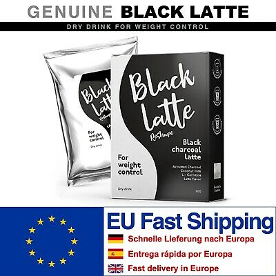 Black Latte Dry Drink. 1 - 20 packs per 100g. GENUINE. WITH VOLUME DISCOUNT !