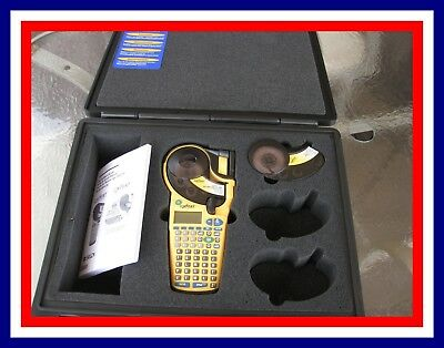 Brady Idxpert Label Marker Labeler, Case, And Labels Complete