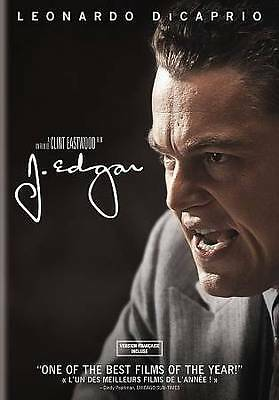 J. Edgar (DVD, 2012, French Included) Leonardo Dicaprio Clint Eastwood -AAA001