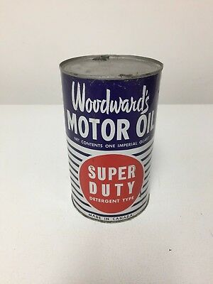 Woodward's Motor Oil Can