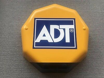 ADT Dummy Alarm Box With Flashing LEDs.