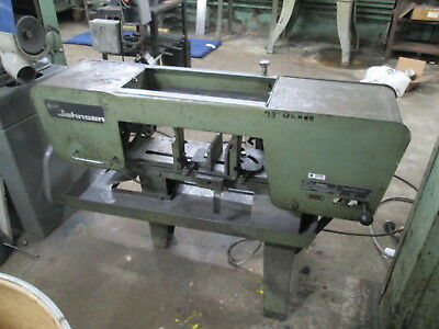 "Kysor Johnson Model R 7""X12"" Capacity 1Hp Horizontal Band Saw W/12"" Vise Opening"