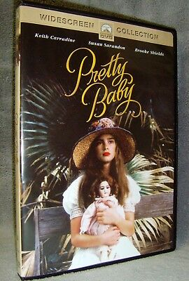 Pretty Baby (DVD, 2003) New•Open•USA•Original Release•Not Archive•Brooke Shields