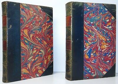 JAMES ANTHONY FROUDE Thomas Carlyle A History Of...  2 Vols FINE BINDINGS 1882