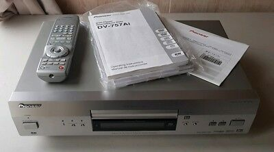 Excellent Pioneer DV-757Ai DVD Audio Player CD SACD Multi Player Award Winning