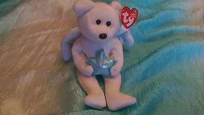 """Ty Beanie Babies Baby """"Star"""" Rare Retired. DOB 2002.  Date on Tush Tag 2003"""