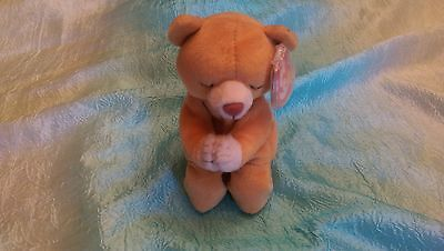 """Ty Beanie Babies Baby """"Hope"""" Rare Retired 1998 DOB with 1999 tag. No loop in tag"""