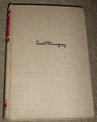 For Whom the Bell Tolls Ernest Hemingway Signed Early Printing 1940