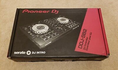 Pioneer DDJ-SB2 DJ Controller, Boxed with Original Cables and Manual