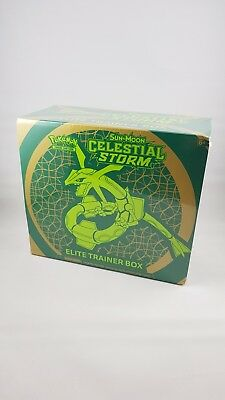 Pokémon - Sun and Moon Celestial Storm Elite Trainer Box - Brand New & Sealed