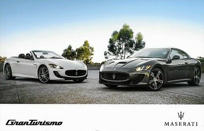 2017 Maserati GRANTURISMO Sales Brochure Folder US 17 Sport MC