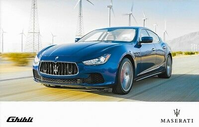 2017 Maserati GHIBLI Sales Brochure Folder US 17 S Q4