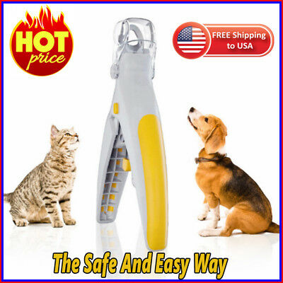 Pain-Free Pet Nail Clipper丨Also work for black nails 2019丨Pet Nail Trimmer