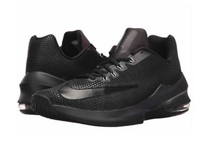 low priced e27cb c322c Mens Size 13 Nike Air Max Infuriate 2 Mid Prm Basketball Shoes Aa4438 001  Black