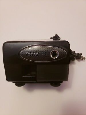 Panasonic KP-310 Auto-Stop Electric Pencil Sharpener Black W/ Suction Cup Feet