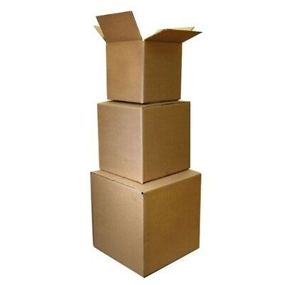 25 Shipping Packing Mailing Moving Boxes 6x6x6 The Boxery