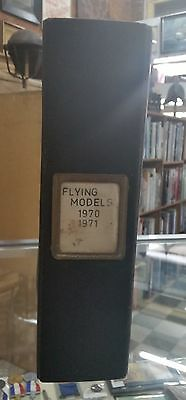 Flying Models Magazines Book July 1970 To Dec 1971