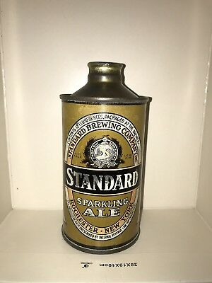 Standard Sparkling Ale J-Spout Cone Top Beer Can, Rochester, NY, 12 oz, IRTP