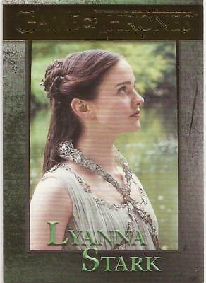 2018 Rittenhouse Archives Game of Thrones Season 7 Lyanna Gold Parallel 74 /150