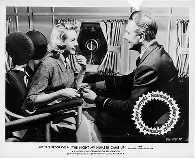 Lot of 4, Mike Redgrave, Sim, Elliott stills THE NIGHT MY NUMBER CAME UP (1955)