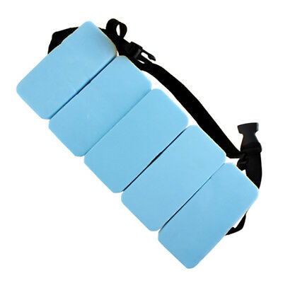 EVA Foam Aquatic Float Belt 5 Blocks Swim ResistanceTraining Water Jogger Pool