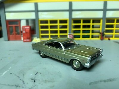 1/64 1967 Ford Fairlane 500 XL in Gold/Black Int/390 4 Speed/Rubber Tires/