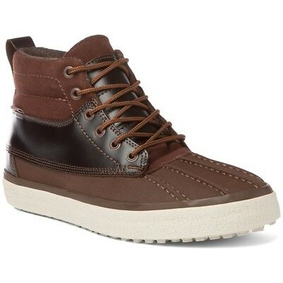 78fbe79b7a53f4 VANS SK8 HI MTE Mens Size 11.5 Skate Shoes Brown Chocolate Mountain ...