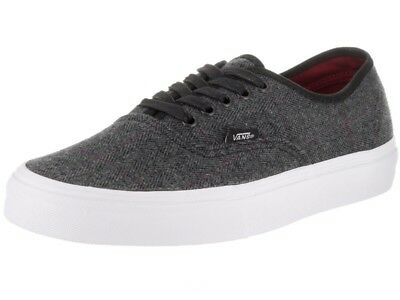 78fa8c746a7 Vans Authentic Tweed Black True White Men s Size 7 Womens 8.5 New In Box  Skate