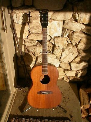 Vintage Gibson LGO acoustic guitar 1960's